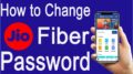 change jio fiber password