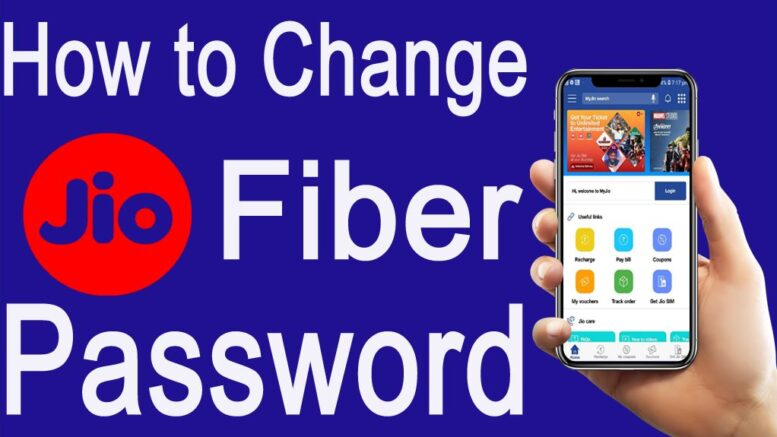 How To Change Jio Fiber Password